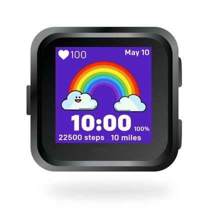 Fitbit Versa and Ionic Clock Faces   Fit Fun Clocks